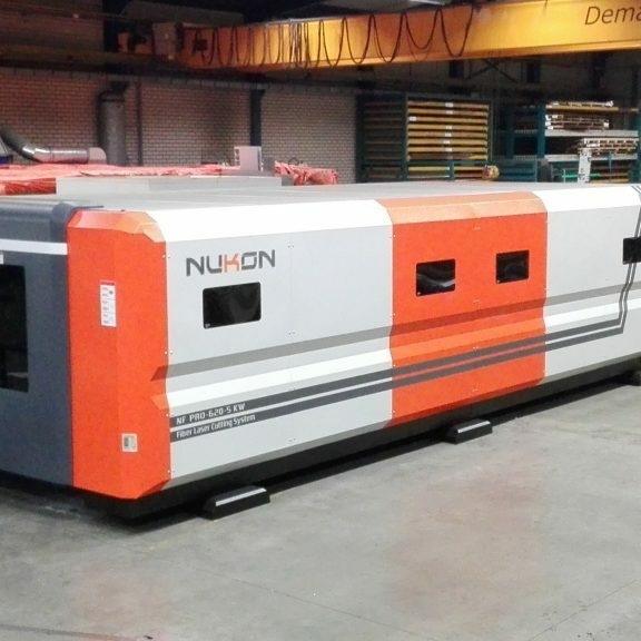 Nukon fiber laser 5 KW Smolenaers